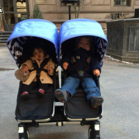 The Little Couple Double Stroller
