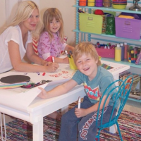 Tori Spelling Playroom Bookcase