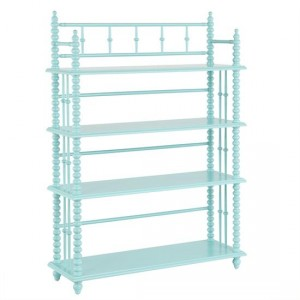 Land of Nod Bookcase Tori Spelling