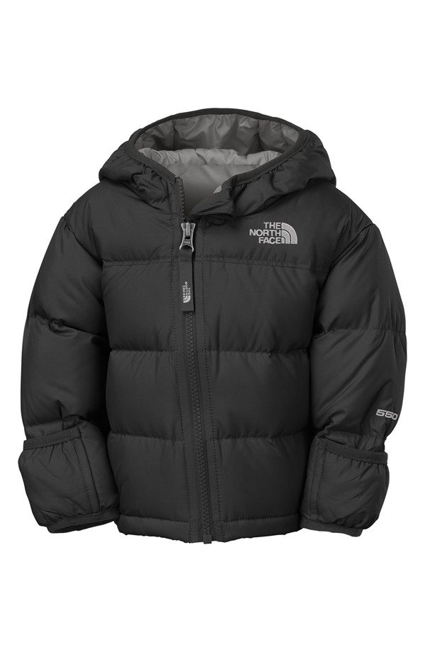 Black Baby North Face Jacket