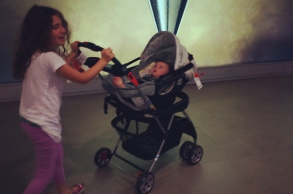 Soleil Moon Frye Car Seat and Stroller