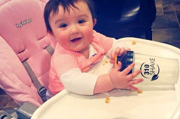 Jenny JWOWW's Daughter Milania's High Chair
