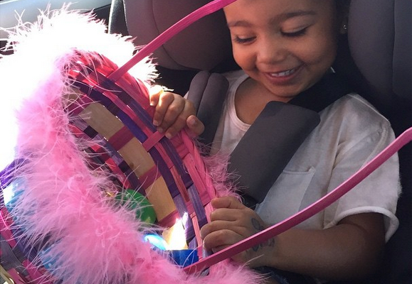 Baby North Kardashian's Car Seat